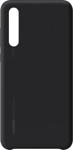 Zadní kryt na mobil HUAWEI Silicon, vhodné pro: Huawei P20 Pro, černá