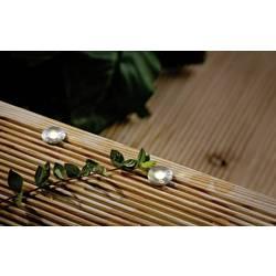 Image of Paulmann 93694 Beleuchtungssystem Plug & Shine LED-Außeneinbauleuchte (Erweiterung) 5er Set LED 1.1 W Warmweiß Silber