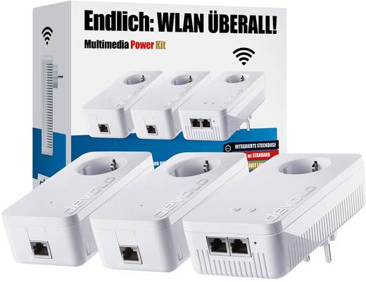 Devolo 1200+ Powerline WLAN Network Kit 1200 MBit/s