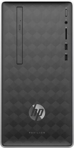 Image of HP Pavilion 590-p0514ng Desktop PC Intel Core i3 i3-8100 8 GB 1 TB HDD 128 GB SSD Windows® 10 Home Intel UHD Graphics