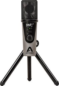 Image of USB-Mikrofon Apogee MiC+ Kabelgebunden inkl. Stativ, inkl. Kabel
