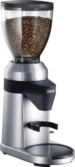 Image of Kaffeemühle Graef CM800EU Silber, Schwarz Stahl-Kegelmahlwerk