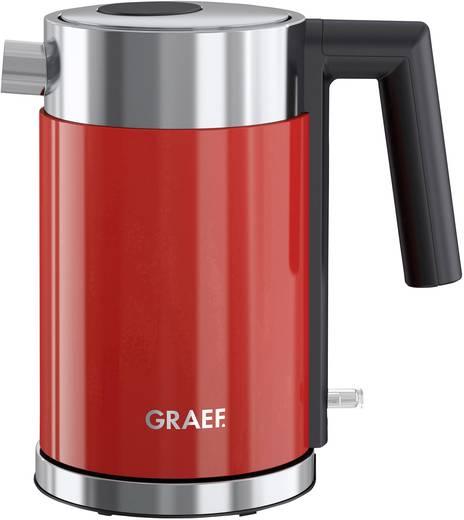 Graef Wk403eu Wasserkocher Schnurlos Edelstahl Rot