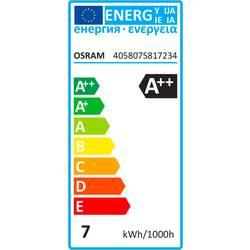 LED žiarovka OSRAM 4058075817234 240 V, E27, 7 W = 60 W, A ++ (A ++ - E), 1 ks