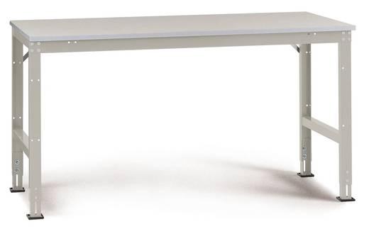 Arbeitstisch UNIVERSAL Standard Grundausführung AU4111.7035 (B x H x T) 2000 x 870 x 800 mm Farbe: Licht-Grau