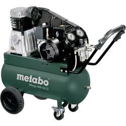 Pístový kompresor Metabo Mega 400-50 D 601537000, objem tlak. nádoby 50 l