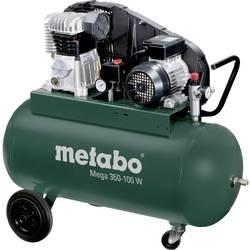 Piestový kompresor Metabo Mega 350-100 W 601538000, objem tlak. nádoby 90 l