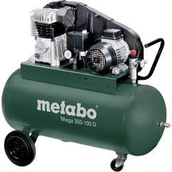 Piestový kompresor Metabo Mega 350-100 D 601539000, objem tlak. nádoby 90 l