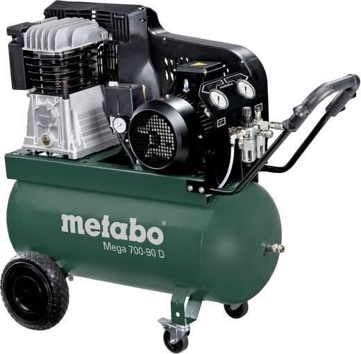 metabo druckluft kompressor mega 700 90 d 90 l 11 bar. Black Bedroom Furniture Sets. Home Design Ideas