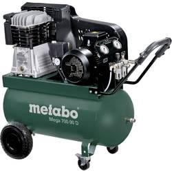 Pístový kompresor Metabo Mega 700-90 D 601542000, objem tlak. nádoby 90 l