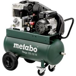 Piestový kompresor Metabo Mega 350-50 W 601589000, objem tlak. nádoby 50 l