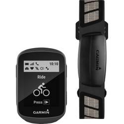Outdoorová navigácia kolo Garmin Edge 130 HR Bundle Bluetooth®, GLONASS, chránené proti striekajúcej vode, GPS