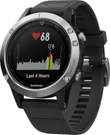 garmin fenix 5 smartwatch schwarz kaufen. Black Bedroom Furniture Sets. Home Design Ideas