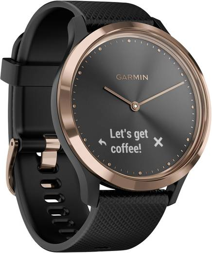 garmin vivomove hr smartwatch schwarz kaufen. Black Bedroom Furniture Sets. Home Design Ideas