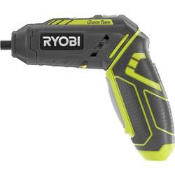 Aku tyčový skrutkovač, aku vŕtací skrutkovač Ryobi R4SDP-L13C 5133002650, 4 V, 1.3 Ah, Li-Ion akumulátor
