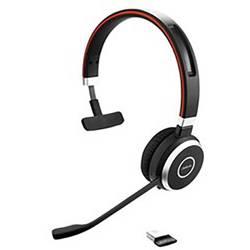 Telefónny headset Jabra Evolve 65 MS, bezdrôtový, mono, čierna, strieborná