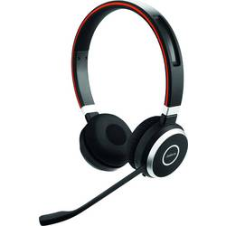 Telefónne headset Jabra Evolve 65 MS, bezdrôtový, čierna, strieborná