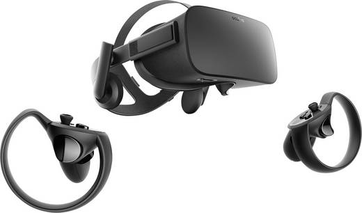 Oculus Rift + Touch MARVEL Powers United VR Special Edition Schwarz Virtual Reality Brille