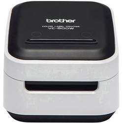 Tlačiareň štítkov ZINK® Brother VC-500W, Šírka etikety (max.): 50 mm, USB, Wi-Fi