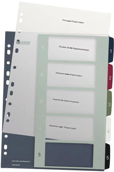 FALKEN Registerblätter Trennblätter grün Ordnen und Sortieren 180 g//qm