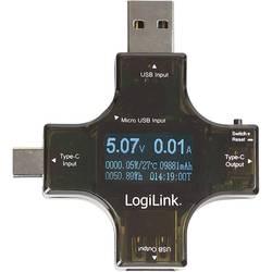 USB adaptér USB 2.0 LogiLink PA0160 čierna