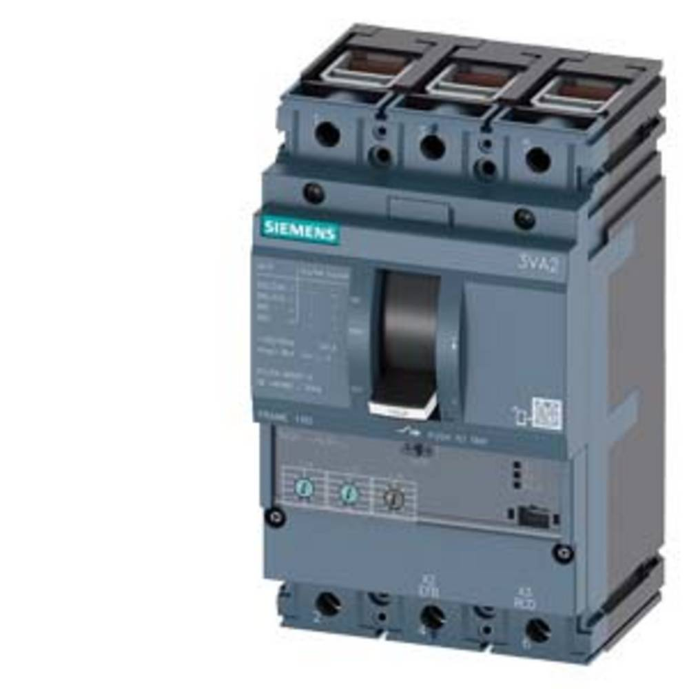Disjoncteur Siemens 3VA2116-5HL36-0KL0 4 inverseurs (RT) Plage de réglage (courant): 63 - 160 A Tension de contact (max.): 690 V/AC (l x H x P) 105 x