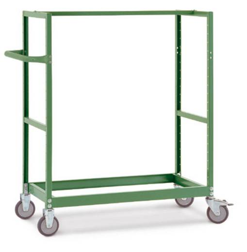 Regalwagen Stahl pulverbeschichtet Traglast (max.): 250 kg Anthrazit Manuflex TV3337.7016