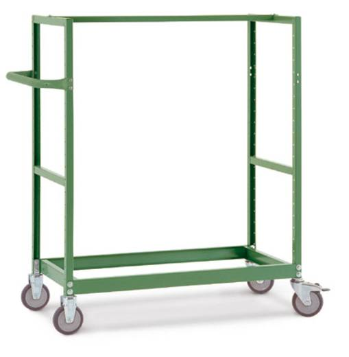 Regalwagen Stahl pulverbeschichtet Traglast (max.): 250 kg Anthrazit Manuflex TV3340.7016