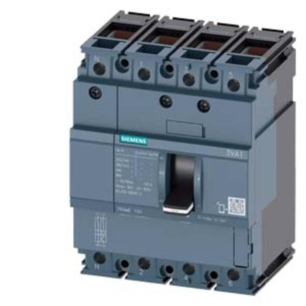 Siemens 3VA1063-3ED46-0AA0 Brytare 1 st Inställningsområde (ström): 63 - 63 A Växelspänning (max.): 690 V/AC (B x H x D) 101.6 x 130 x 70 mm