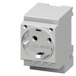 Zásuvka s ochranným kontaktem Siemens Delta žlutá 5TE6810