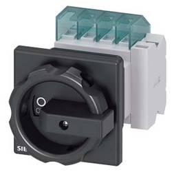 Odpínač čierna 3-pólové 6 mm² 16 A 1 spínací, 1 rozpínací 690 V/AC Siemens 3LD20541TP51