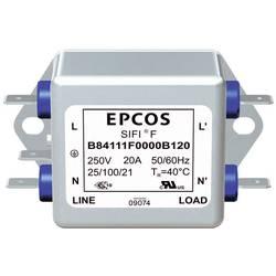 Filter TDK B84111F0000B120 B84111F0000B120, 250 V/AC, 20 A, 1 ks