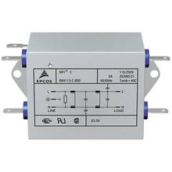 Sieťový filter TDK B84113C0000B060 B84113C0000B060, 250 V/AC, 6 A, 1 ks