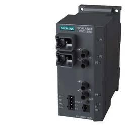 Priemyselný ethernetový switch Siemens SCALANCE X202-2IRT, 10 / 100 Mbit/s