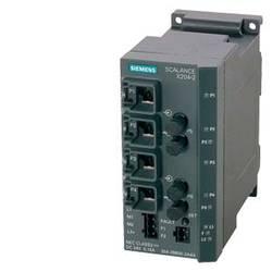 Priemyselný ethernetový switch Siemens SCALANCE X204-2, 10 / 100 Mbit/s