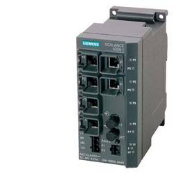 Priemyselný ethernetový switch Siemens SCALANCE X206-1, 10 / 100 Mbit/s