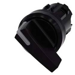 Kĺbový spínač Siemens 3SU1002-2CF10-0AA0, otočný prepínač, 1 x 90 °, čierna, 1 ks