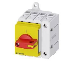Odpínač červená, žltá 4-pólové 16 mm² 25 A 690 V/AC Siemens 3LD31300TL13