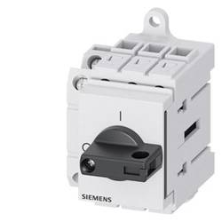Odpínač čierna 3-pólové 16 mm² 25 A 1 spínací, 1 rozpínací 690 V/AC Siemens 3LD31301TK11