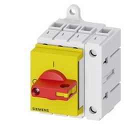 Odpínač červená, žltá 4-pólové 16 mm² 63 A 690 V/AC Siemens 3LD34300TL13