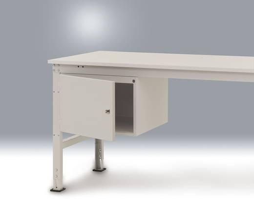 Manuflex ZB4214.0001 Gehäuse 300 UNIVERSAL m.Türe An- schlag rechts, für 800 mm Tiefe KRIEG Hausfarbe graugrün (B x H x
