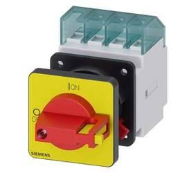 Odpínač červená, žltá 4-pólové 6 mm² 16 A 690 V/AC Siemens 3LD20501TL13