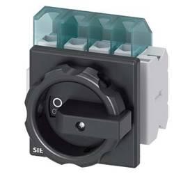 Odpínač čierna 4-pólové 16 mm² 25 A 1 spínací, 1 rozpínací 690 V/AC Siemens 3LD21032EP51
