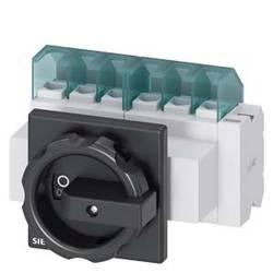 Odpínač čierna 6-pólová 16 mm² 25 A 1 spínací, 1 rozpínací 690 V/AC Siemens 3LD21034VP51