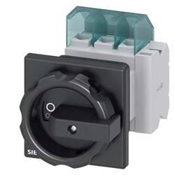 Odpínač čierna 3-pólové 16 mm² 25 A 1 spínací, 1 rozpínací 690 V/AC Siemens 3LD21541TP51