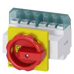 Odpínač červená, žltá 6-pólová 16 mm² 32 A 690 V/AC Siemens 3LD22033VK53