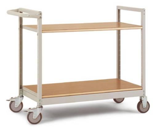 Regalwagen Stahl pulverbeschichtet Traglast (max.): 250 kg Manuflex TV1031.5021