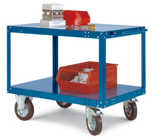 Tischwagen Stahl pulverbeschichtet Traglast (max.): 400 kg Wasserblau Manuflex TT1032.5021