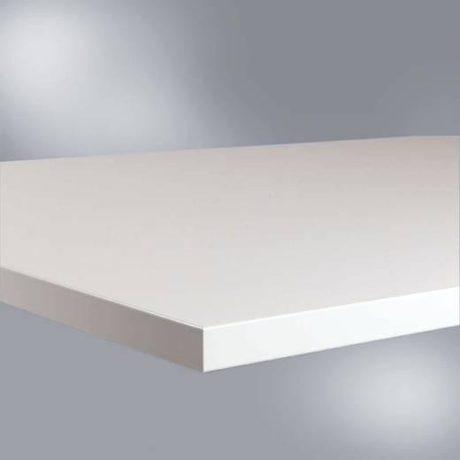 Manuflex LZ0963 Tischpl. 56 Kunststoff 1500x600x28 mm leitfähig, lichtgrau ca.10 hoch 5 bis 10 hoch 7 Ohm nach IEC 61340