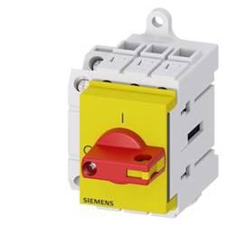 Odpínač červená, žltá 3-pólové 16 mm² 63 A 1 spínací, 1 rozpínací 690 V/AC Siemens 3LD34301TK13